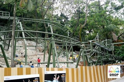 This roller coaster is a custom wild mouse. It does not look as intense as Lost City of Gold, though.
